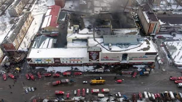 Пожар в Кемерово 25 марта
