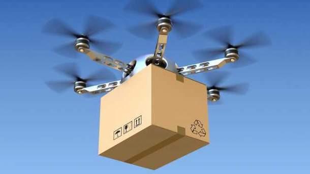 """""""Новая почта"""" тестирует доставку дронами"""