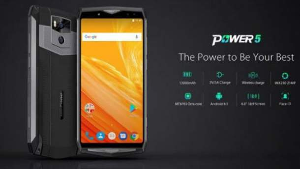 Смартфон Ulefone Power 5