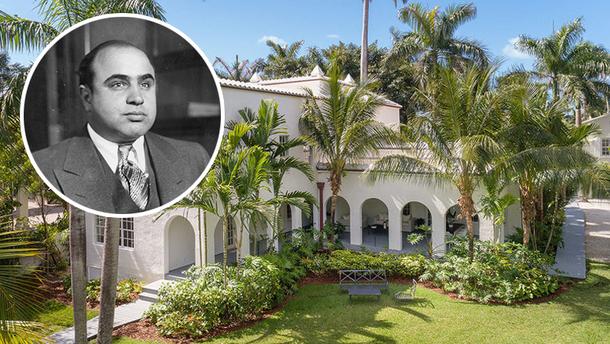 Дом гангстера Аль Капоне выставили на продажу