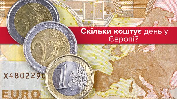 Ціни у столицях Європи: інфографіка