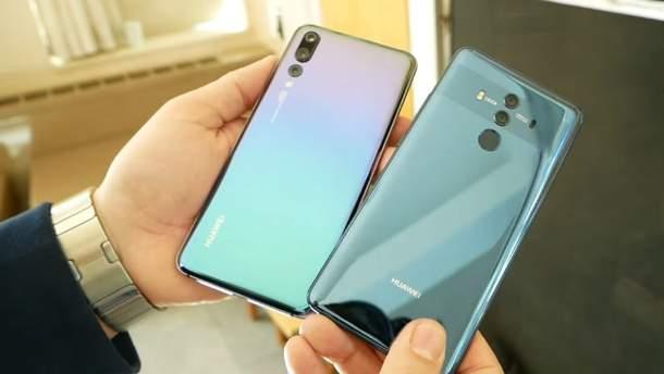 Смартфоны Huawei P20 і P20 Pro