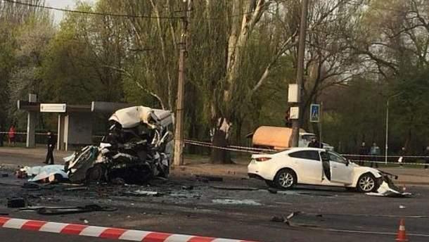 У ДТП в Кривому Розі 17 квітня загинуло 9 людей