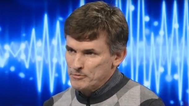Журналіст Леонід Швець