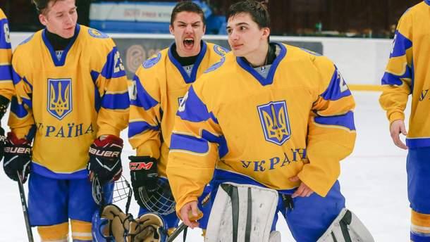 Юношеская сборная Украины по хоккею