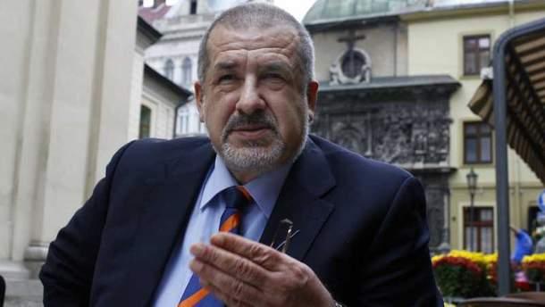 Председатель Меджлиса крымскотатарского народа Рефат Чубаров