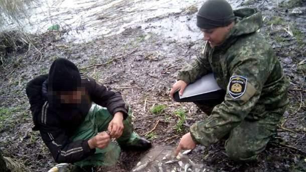 Браконьера с уловом на 141 тысячу гривен поймали на Харьковщине