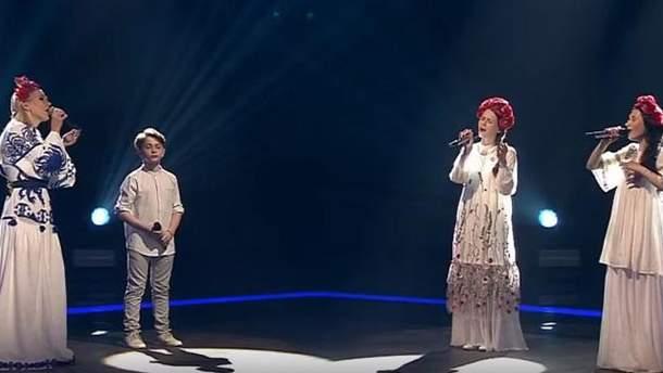 """У Росії на шоу """"Голос. Дети"""" заспівали українську пісню """"Цвіте терен"""""""