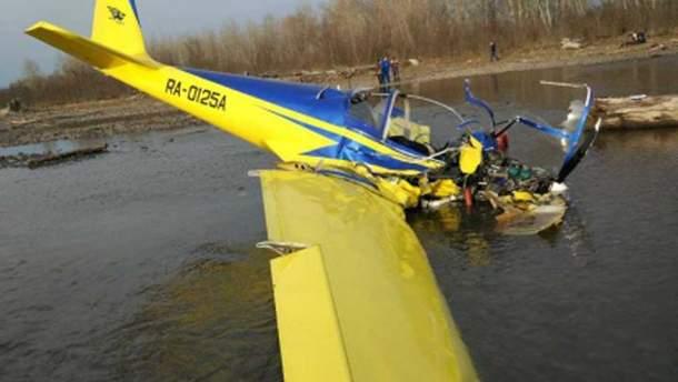 Падение самолета в Хакасии