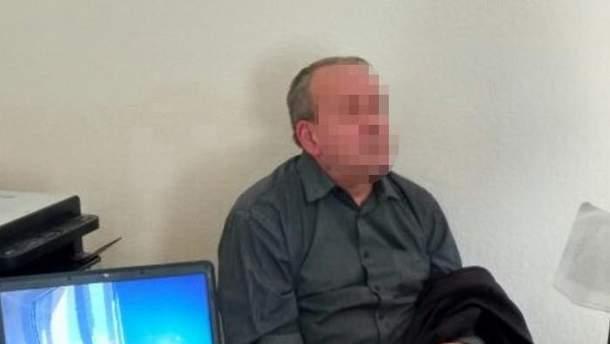 Задержанный российский шпион