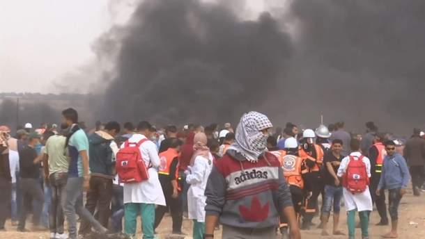 Протесты в Секторе Газа