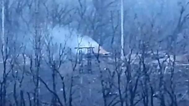 Украинские военные уничтожили позицию пророссийских боевиков на Донбассе