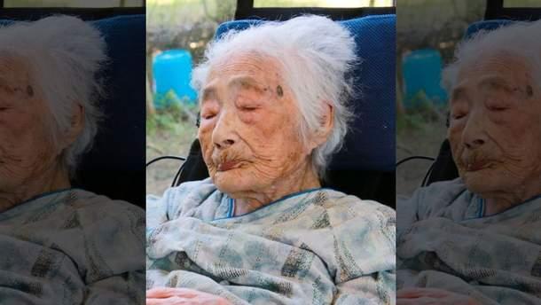 Самая старая женщина мира Наби Тадзима умерла