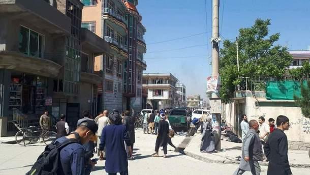 В столице Афганистана подорвался смертник: по меньшей мере 4 человека погибли