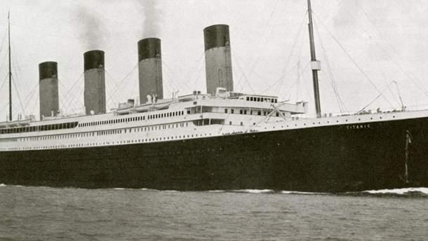 """Британський колекціонер придбав меню першого обіду на борту """"Титаніка"""""""