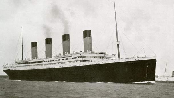 """Британский коллекционер приобрел меню первого обеда на борту """"Титаника"""""""
