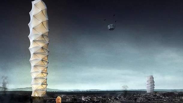 Проект хмарочоса-орігамі