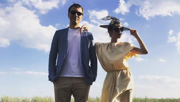 Владимир Омелян и его жена Светлана Бевза
