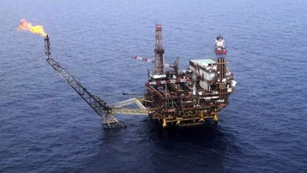 Россия добывает газ на шельфе аннексированного Крыма