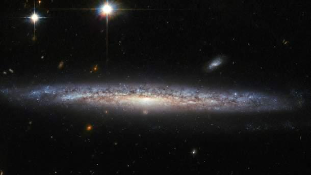 "Галктика NGC 6240 (снимок телескопа ""Хаббл"")"