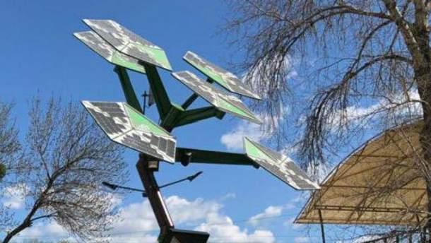 В Киеве открыли первое смарт-дерево