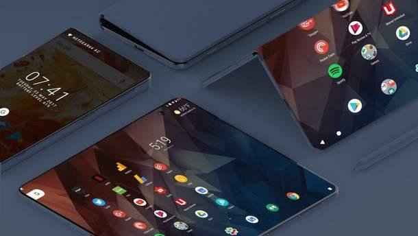 В мережі з'явилися дані про гнучкий смартфон Samsung