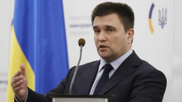 """Клімкін на зустрічі з країнами """"Великої сімки"""" домовився про спільну боротьбу з агресією РФ"""