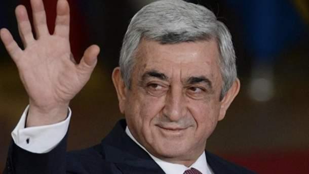 Армения празднует отставку  Саргсяна