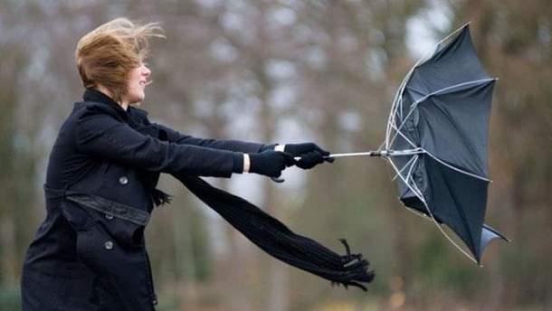 У Дніпропетровській області оголосили штормове попередження