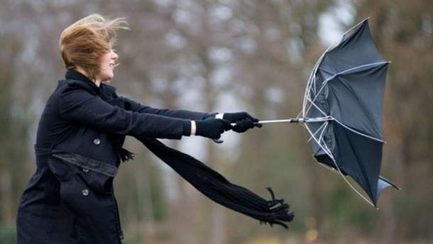 В Днепропетровской области объявили штормовое предупреждение