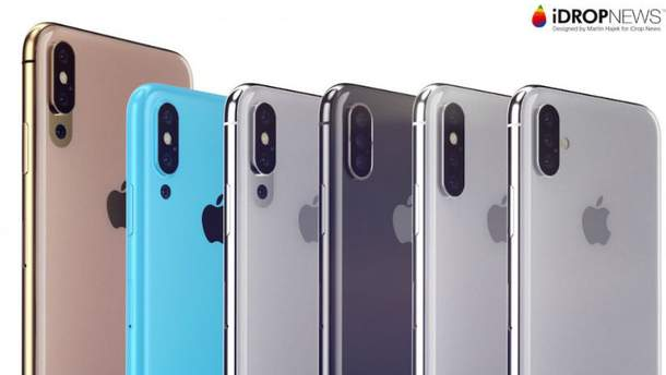Який як виглядатиме  iPhone з трьома камерами
