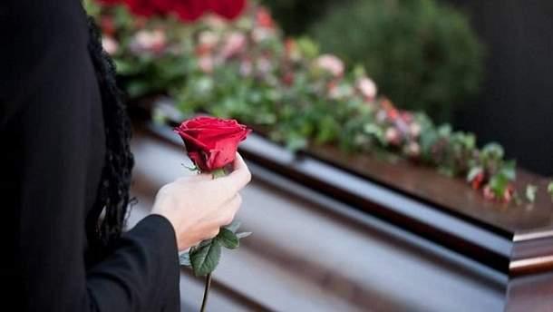 Похороны Дениса Лущанского