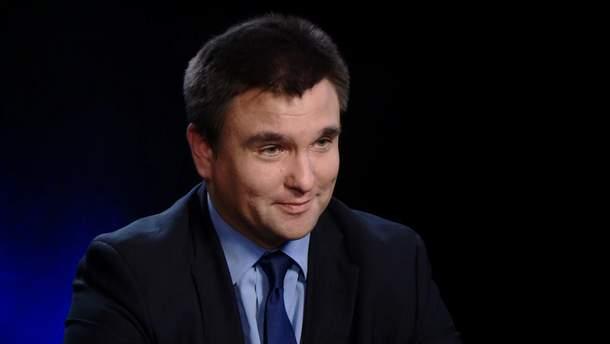 """Було відчуття, що Україна є частиною цієї спільноти, – Клімкін про зустріч """"Великої сімки"""""""