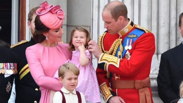 Принц Уильям, Кейт Миддлтон и их подрастающие дети