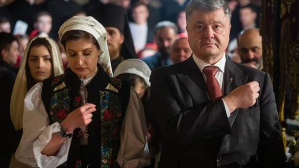 Порошенко выступает за независимость украинской церкви