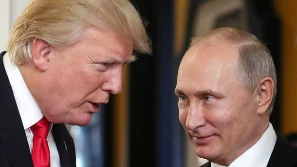 Трамп хотів зустрітися з Путіним у Москві у листопаді 2013 року