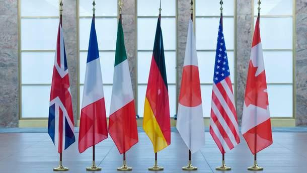 Країни G7 готуються до нових санкцій проти Росії