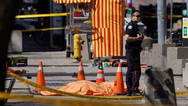 Кількість загиблих у Торонто зросла до 10 осіб