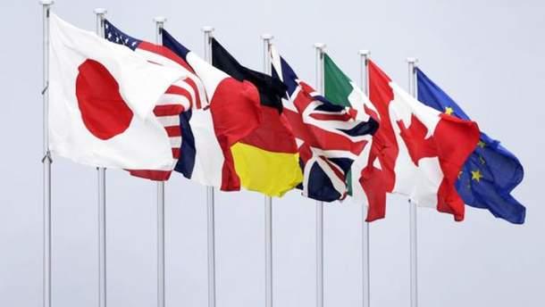 G7 оголосила про продовження співпраці з Росією