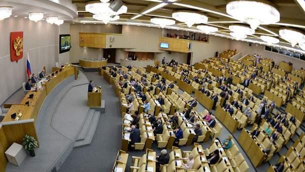 Госдума введет наказание за выполнение санкций США