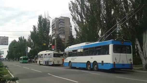 В Житомире молодчики сильно избили водителя троллейбуса (иллюстративное фото)