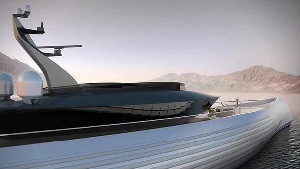 Современная яхта