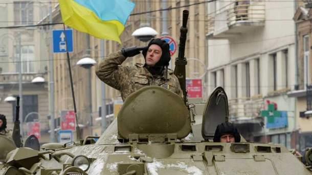 Україна піднялась у рейтингу найсильніших армій Європи