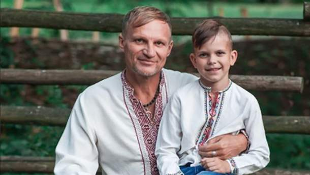 Олег Скрипка показав, як співає його син: відео