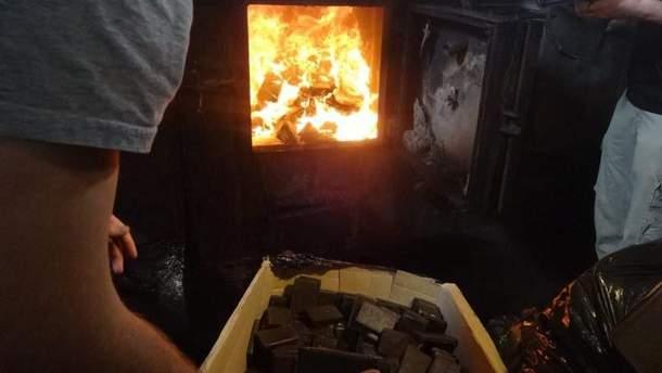 На Львовщине сожгли наркотиков на 50 млн гривен