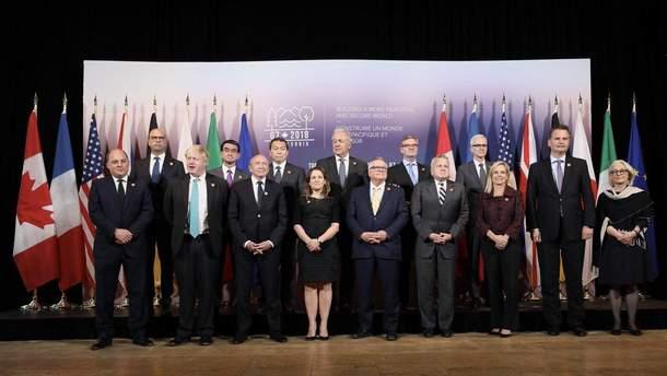 Встреча министров стран G7
