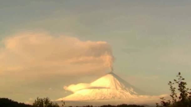 На Камчатці активізувався вулкан