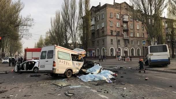 ДТП в Кривом Роге: увеличилось количество жертв