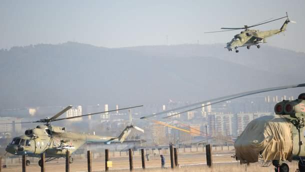 У Росії повідомили про атаку дронів на авіабазі Хмеймім