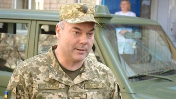 Наев рассказал о полномочиях Объединенных сил на Донбассе